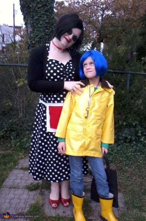 Coraline and the Other Mother Costume | Coraline, Halloween ...