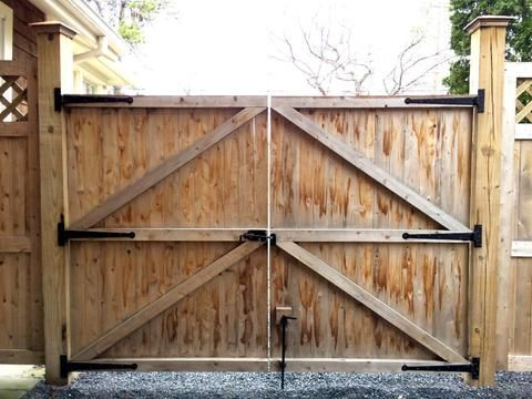 Premium Colonial Style Strap Hinges In 2020 Wood Gates Driveway Wood Fence Gates Wooden Fence Gate
