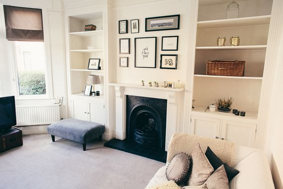 Styling and interior inspiration for an Edwardian Terrace interior tour with vintage eclectic and designer decor and upcycled furniture details