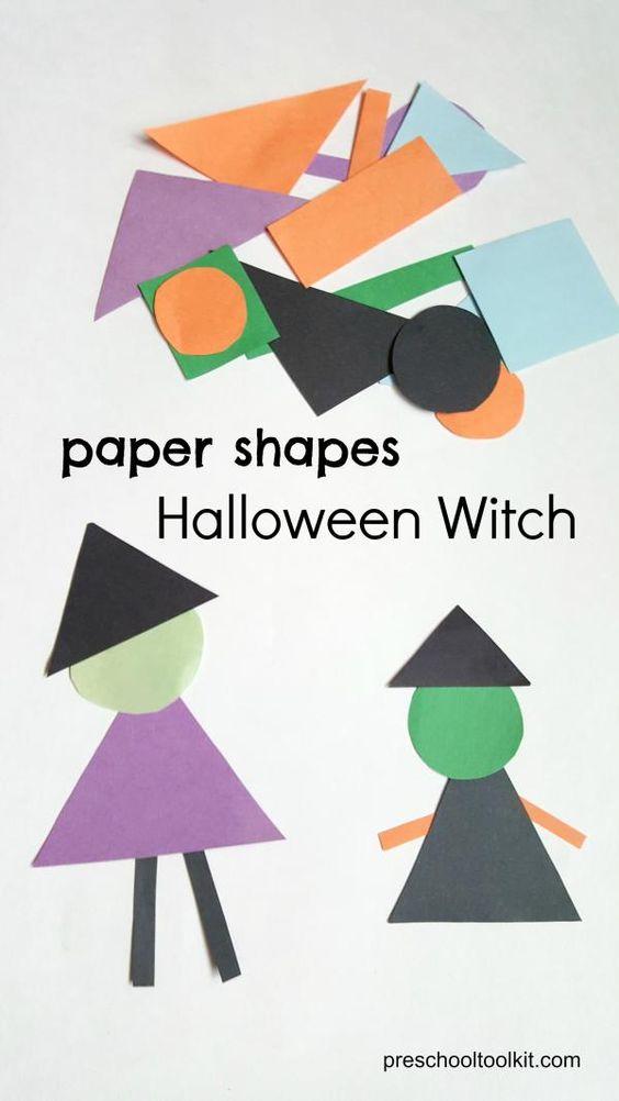 Brujas de halloween, Brujas and Forma on Pinterest