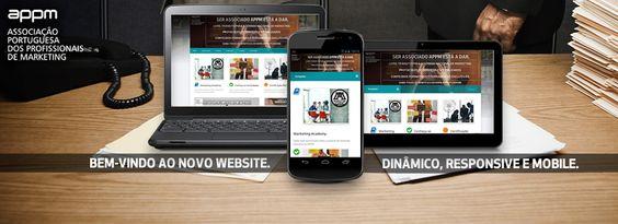 Descubram o novo Website da APPM Associação Portuguesa dos Profissionais de Marketing