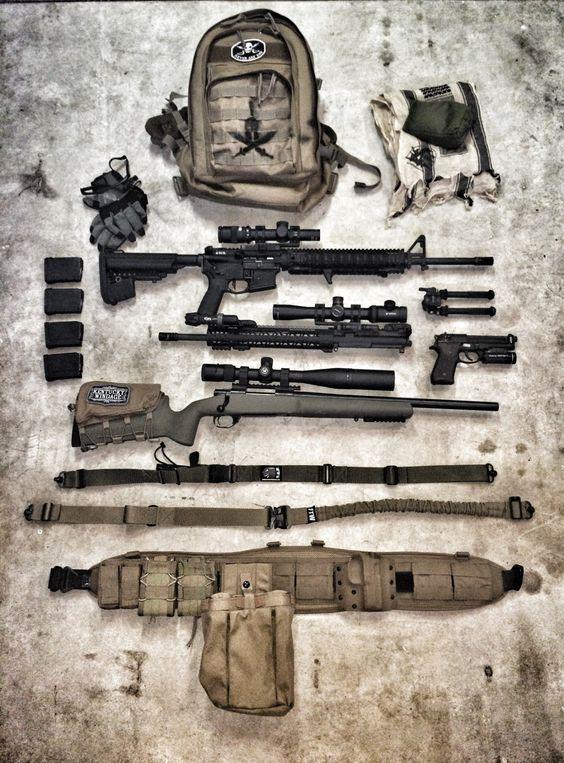 d-day infantry equipment