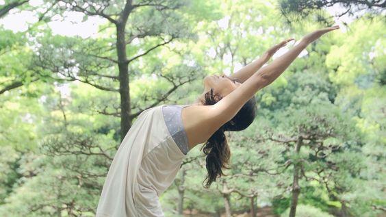 Sun Salutation - A 太陽礼拝  Yogalog