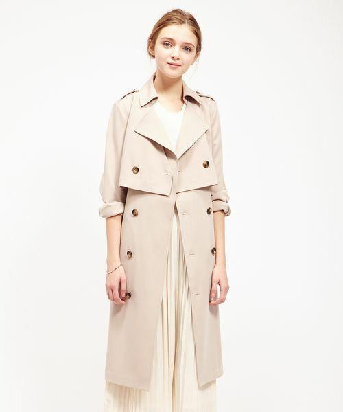 【3WAY】トレンチコート(トレンチコート)|ROPE' PICNIC(ロペピクニック)のファッション通販 - ZOZOTOWN