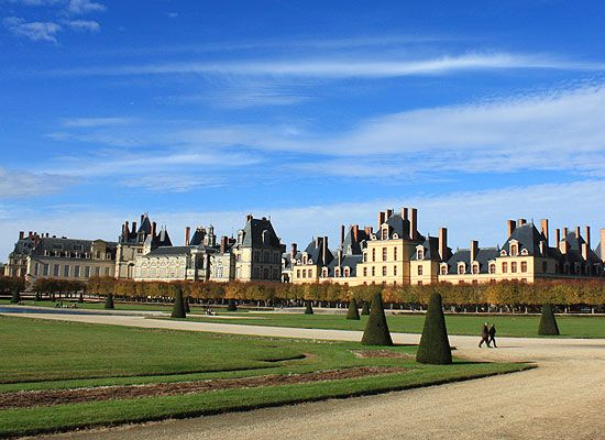 Sehenswürdigkeiten Frankreich: Schloss Fontainebleau