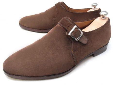 Homme Noir Cuir Bexley 5110846 Chaussures à boucles [5110846 ...