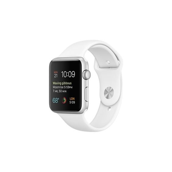 Apple Watch Sport ❤ liked on Polyvore featuring sport jewelry, sports jewelry, sport watches, sport wrist watch and sports watches
