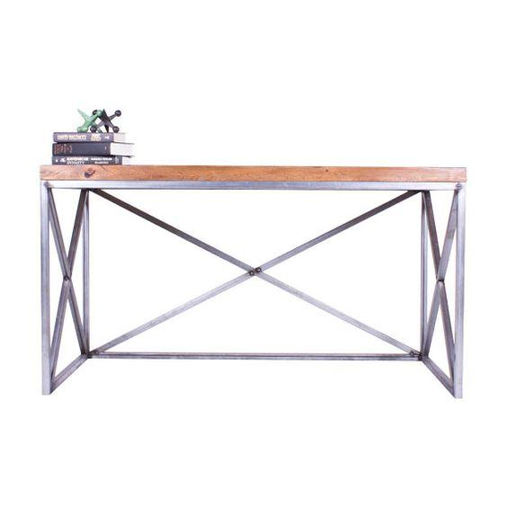 Reclaimed Wood Desk by CroftHouseLA on Etsy