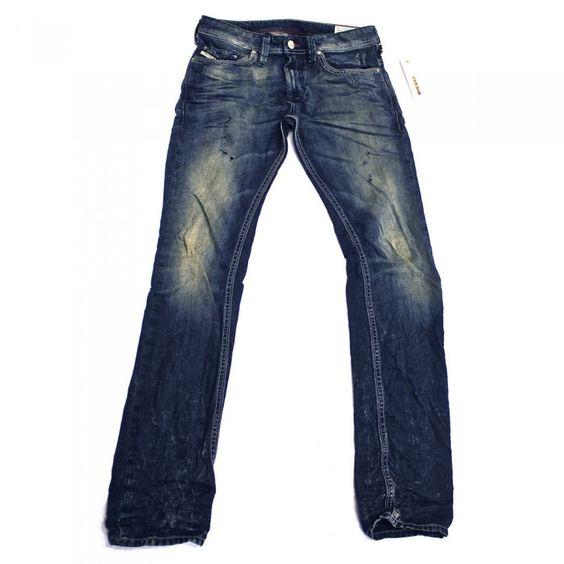 Diesel Thanaz 660Q Mens Jeans | 0660Q | Slim | Tapered | Diesel ...