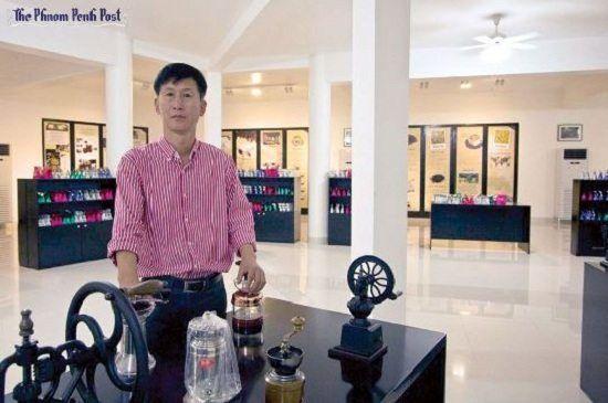 Chủ nhân của bảo tàng Golden Mountain Coffee