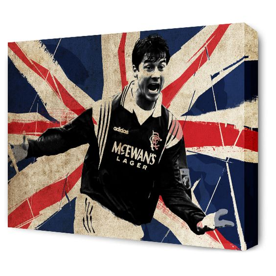 The Blue Room — Brian Laudrup Canvas