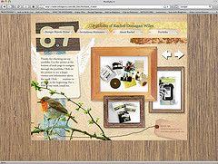 bird + collage: Neutral Living Rooms, Web Design, Textured Website, Design Web, Hand Lettering