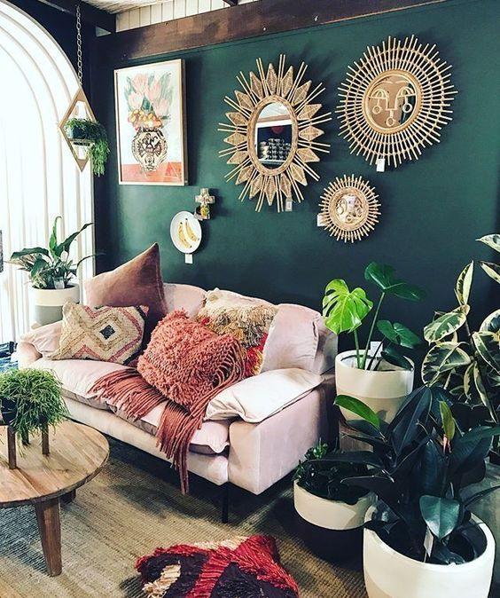 Boho Style Decor Love It Sacred Space Lounge Area Bohemian