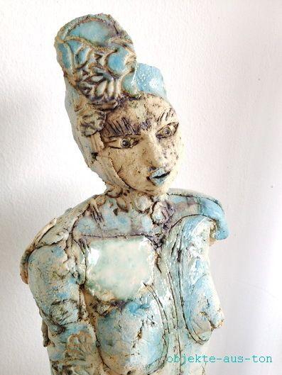 Skulptur aus Keramik von Gaby Pühmeyer - Objekte aus Ton auf DaWanda.com