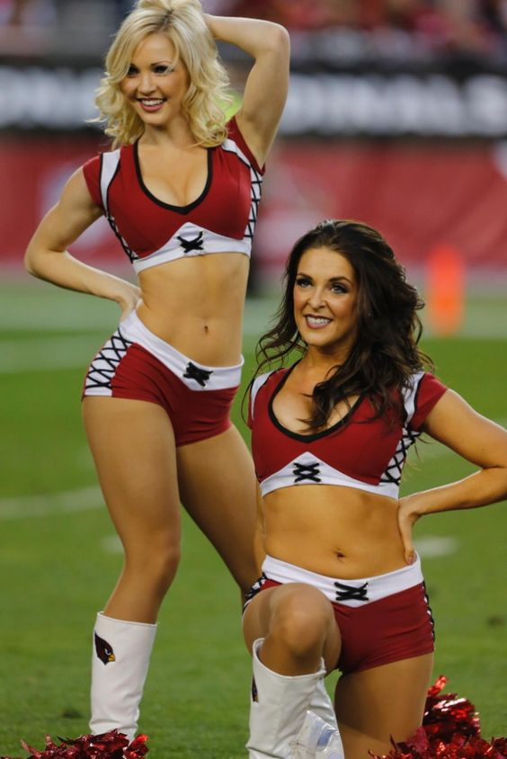 The Arizona Cardinals cheerleaders perform during the second half of an NFL football game against the San Francisco 49ers, Sunday, Dec. 29, 2013, in Glendale, Ariz. The 49ers won 23-20.