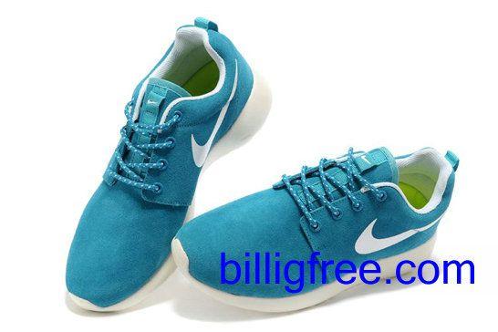 Verkaufen billig Schuhe Damen Nike Roshe Run (Farbe: Vamp - blau, innen, Sohle, Logo - weiB ) Online in Deutschland.