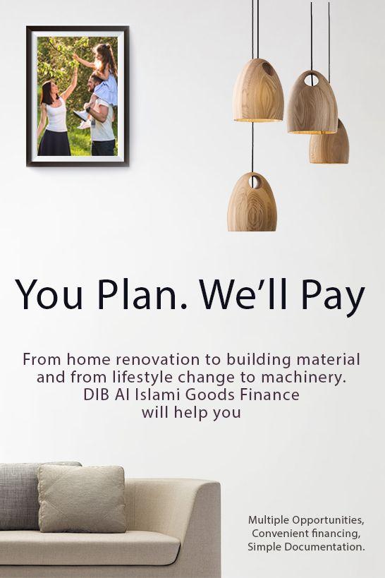 Dubai Islamic Bank Al Islami Goods Finance Aims To Help Community For Purchasing Materials Home Renovation Building Material Islamic Bank Finance Islam