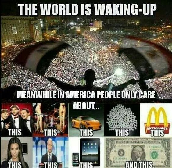 Wake up. Truth movement.
