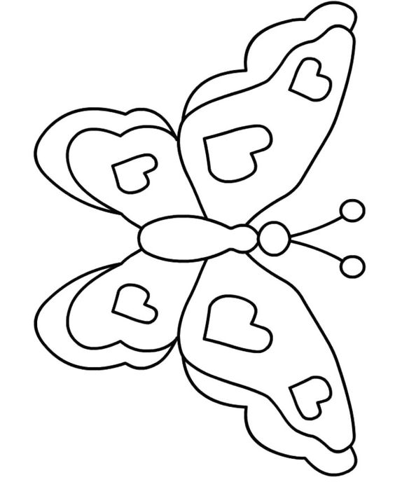 Butterfly Who Fuck Coloring Page