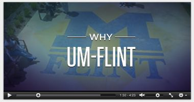 The University of Michigan-Flint is a gem in the city. I'm proud to be an alumna.