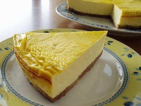 Recetas Dukan: Tarta de queso y galleta (Crucero) / Low carb New York Cheesecake