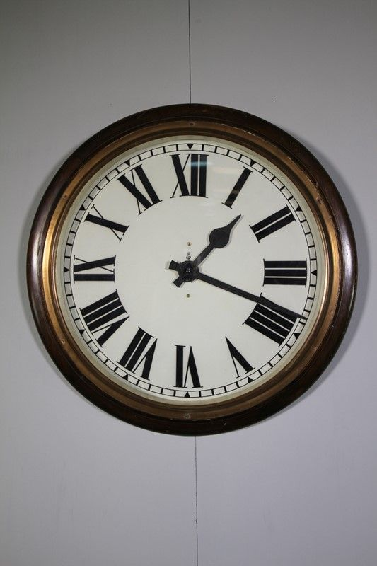 Large Edwardian Antique Post Office Clock Working Miles Griffiths Antiques Img 1930 1000x1500 Main 636864300871305574 Jpg Office Clock Office Wall Clock Clock