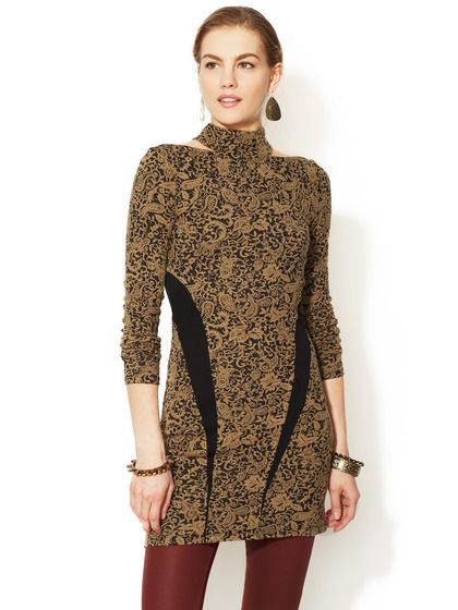 Ginger Jacquard Tunic by Free People at Gilt