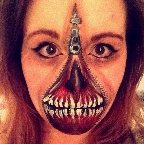 17 Best images about Make up artistic on Pinterest Eyes, Halloween - best halloween face painting ideas