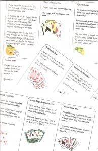 Math Games with A Pack of Cards...links to more websites with math card games