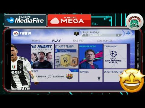 Fifa 19 For Android Best Graphics With Commentary Fifa 14 Mobile Latest New Mod Youtube Offline Games New Mods Latest Games