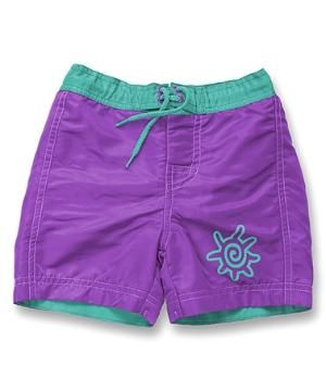 Purple Boardshorts - Toddler & Girls $14.99 by Zulily