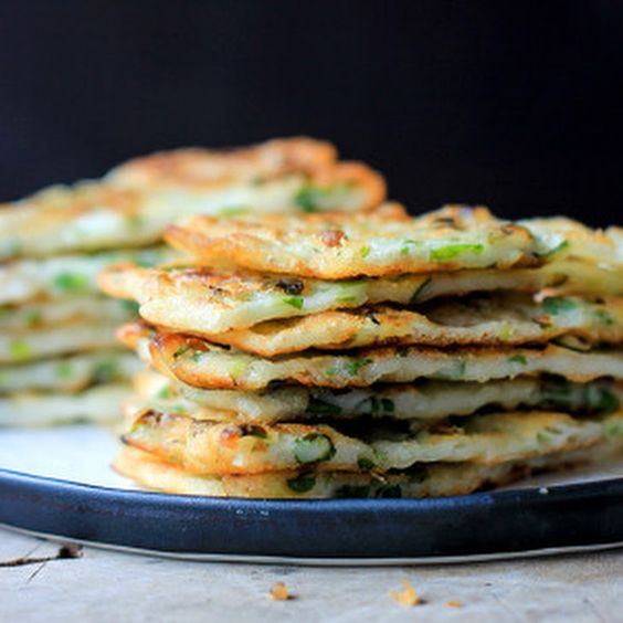 Chinese Scallion Pancake—Simplified Version
