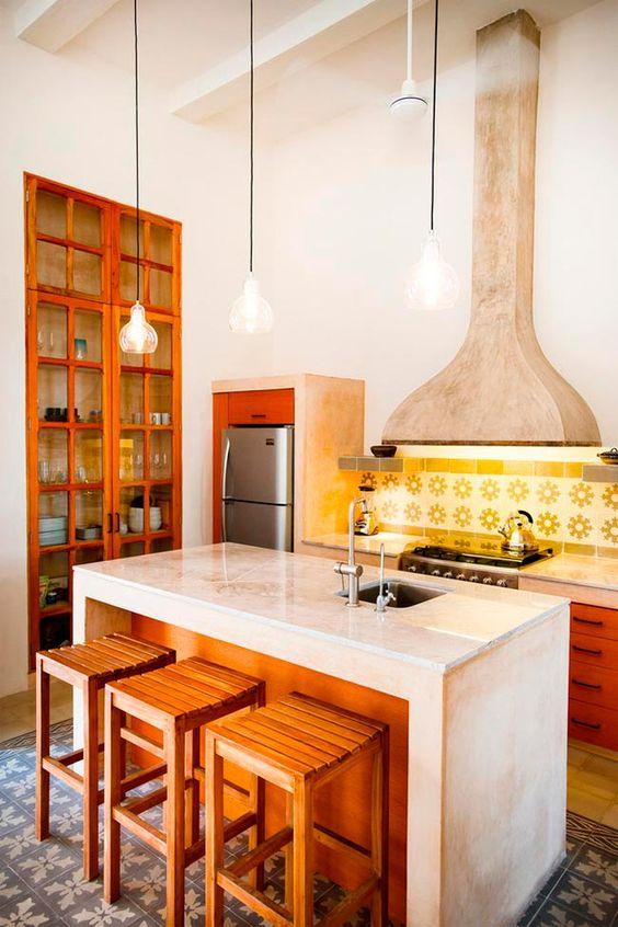 12 cocinas con una gran idea en com n que querr s copiar for Ideas para decorar cocinas pequenas