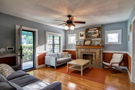 bungalow living rooms - Google Search