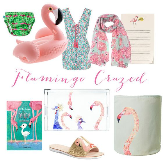 Our favorite flamingo inspired products over on the blog today!