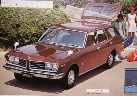 71 Toyota Crown 車