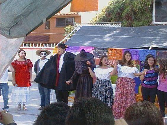 Festejo del día de muertos 2012