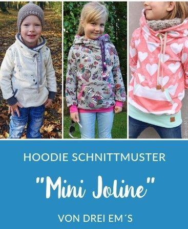 Kinder kostenlos hoodie schnittmuster Hoodie nähen