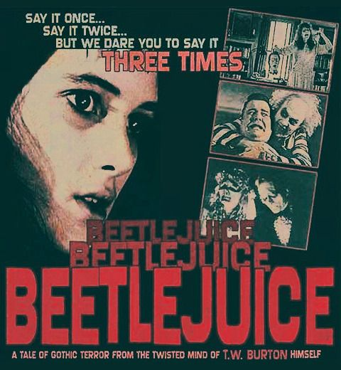 Beetlejuice Poster art