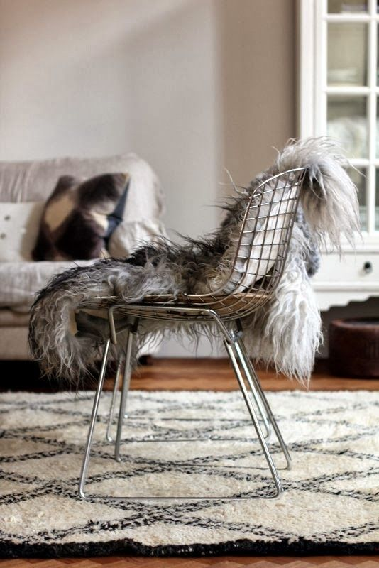 : Interior Design, Living Room Chairs, Chair Rug