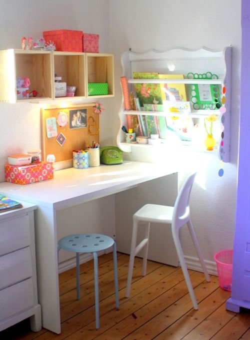kiddo's deskspace #desk: Kid Space, Kids Room, Home Office, Kidsroom