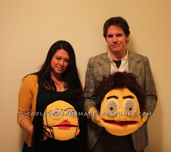 Awesome Halloween Costume Idea: Muppet Versions of Ourselves! ... This website is the Pinterest of costumes