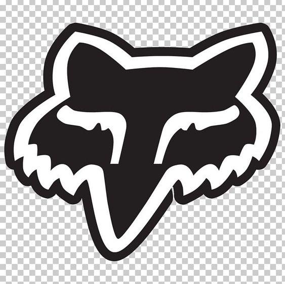Fox Racing Logo Fox News Decal Png Clipart Animals Black Black And White Brand Carnivoran Free Png Download Fox Racing Logo Fox Decal Fox Racing
