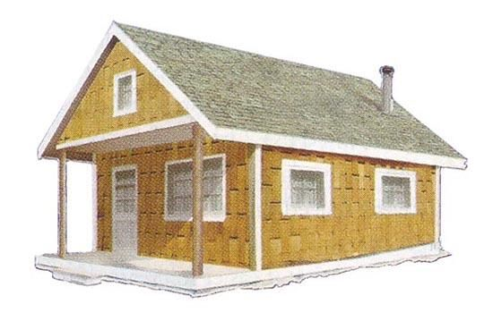 Build This Cozy Cabin Mother Earth News Small Cabin Plans Small Log Cabin Building A Cabin