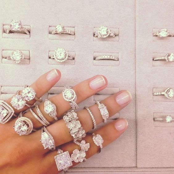 NEW @M_Lhuillier Engagement Ring Styles. Available at bluenile.com.