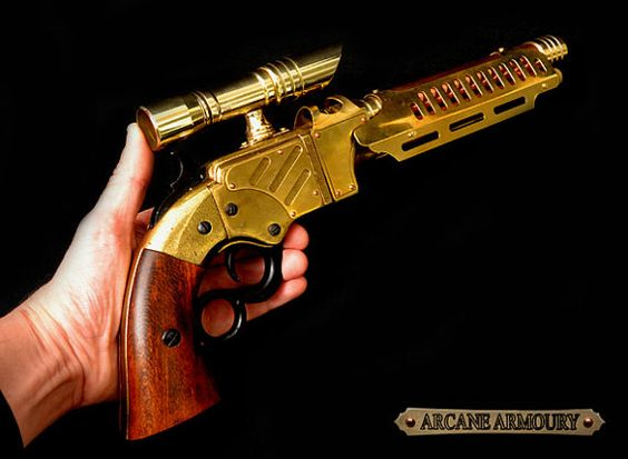 """Not exactly a """"Bang!"""" pistol, but how cool is this?"""