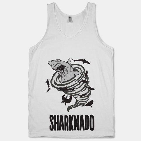Sharknado tank top! $26.00 #sharknado #tshirt