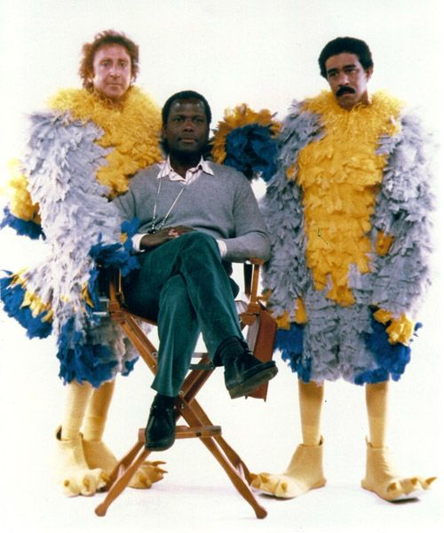 Sidney Poitier, Gene Wilder, Richard Pryor - is this not a movie dream team?: