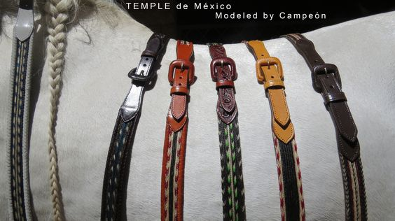 Horsehair hand braided belts A haircut for our divine horses