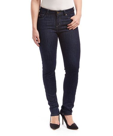 Love this Light Navy Mustang Sally Straight-Leg Jeans by LNO jeans on #zulily! #zulilyfinds